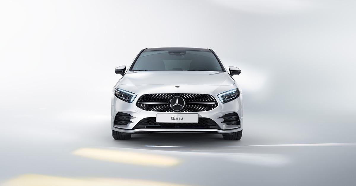 Nuova Classe A con Mercedes me.