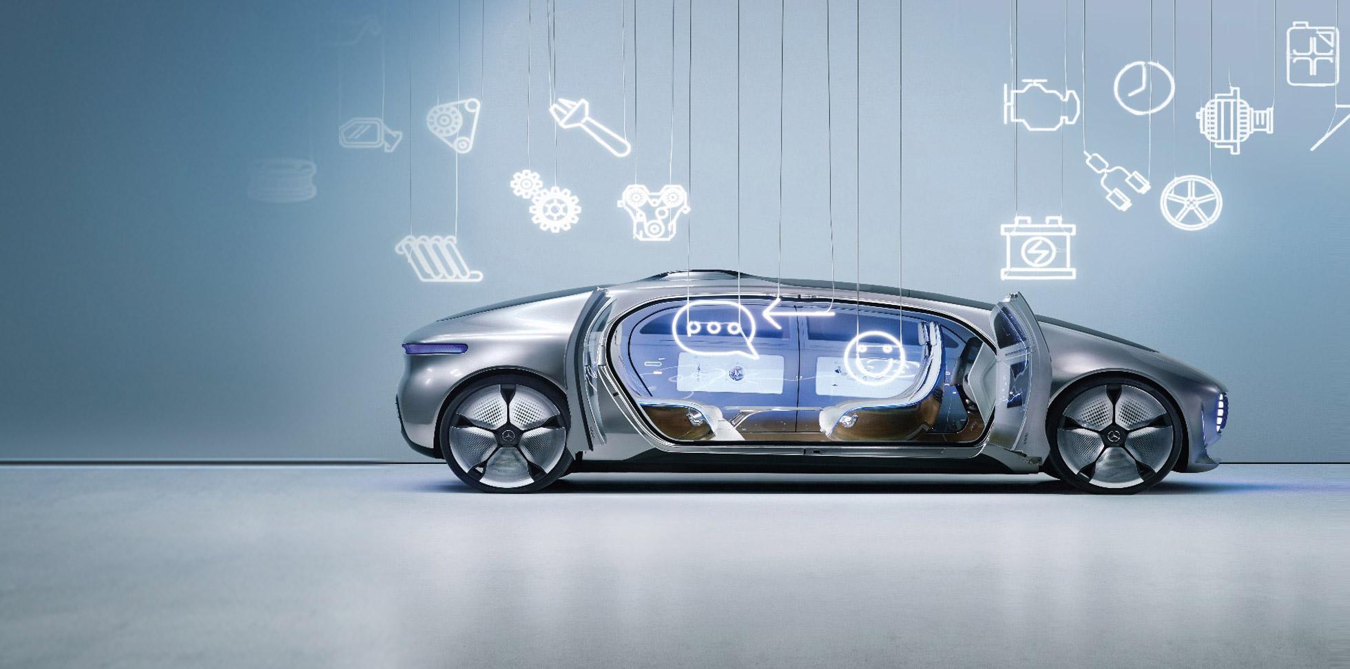 Per l'auto del futuro, non può bastarti un service del presente.