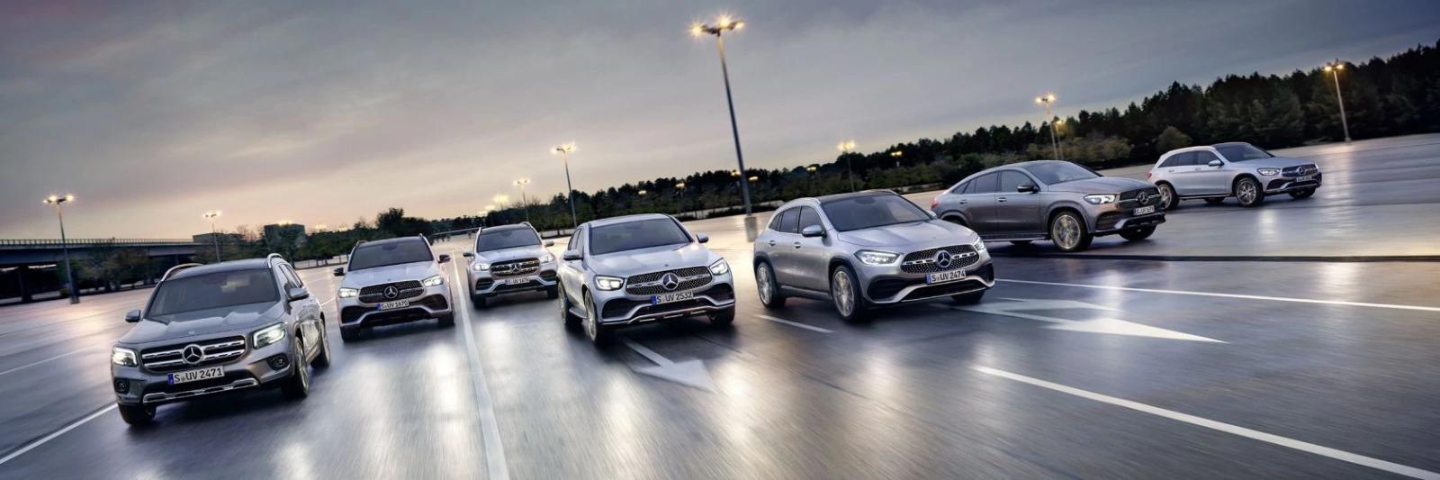 Nuova gamma SUV Mercedes-Benz. La forza dello stile.
